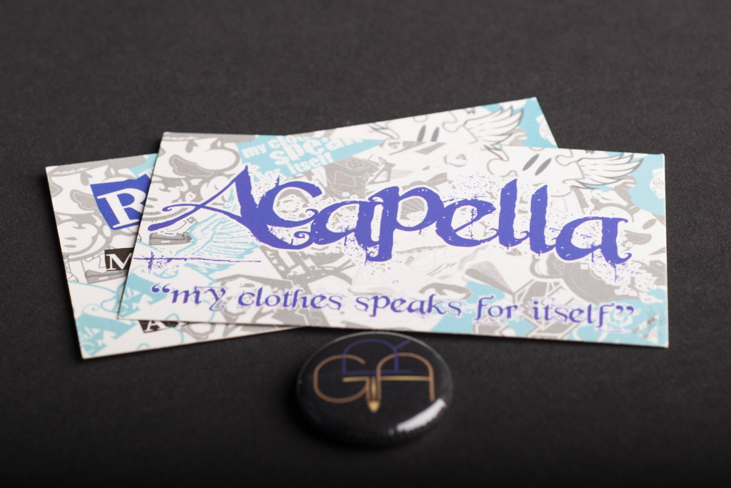 Acapella Clothing Business Card