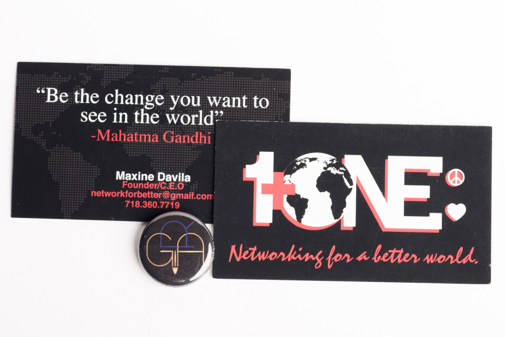 1 + One Business Card